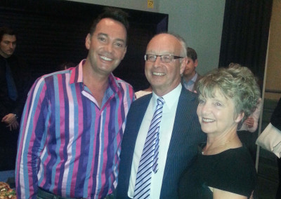 Fab-u-lous Craig Revel Horwood with Geoff and Vicky at NATD Congress 2014