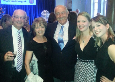 The team with Len Goodman at NATD Congress 2014