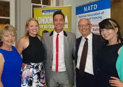 The team with Craig Revel-Horwood at NATD Congress 2016